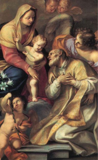 Carlo Maratta, La Vergine offre il Bambino a san Filippo - storia su... dans immagini sacre san_filippo_10